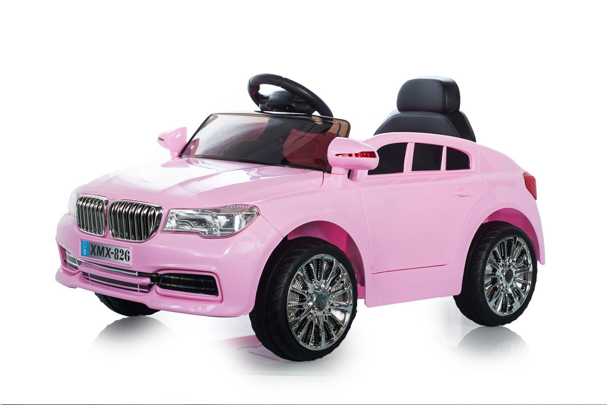 pink 12v x5 saloon suspension rc kids 39 electric ride on car ebay. Black Bedroom Furniture Sets. Home Design Ideas