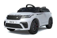 12V Licensed White Range Rover Velar Ride On Car