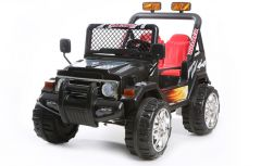 Black 4x4 - 2 Seater 12V Electric Ride On Truck