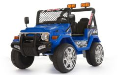 Blue 4x4 - 2 Seater 12V Electric Ride On Truck