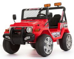 Red 4x4 - 2 Seater 12V Electric Ride On Truck
