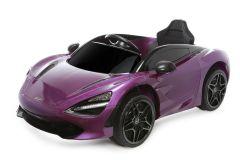 12V Licensed McLaren 720S Ride On Car Purple