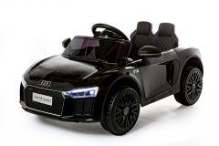 12V Licensed Black Audi R8 Spyder Battery Ride On Car