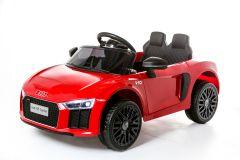 12V Licensed Red Audi R8 Spyder Battery Ride On Car