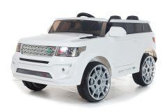 4x4 White Range Sport Off Roader - 12V Electric Ride On Car