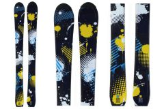 Tigris Junior Boys Skis 100cm