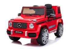 12V Licensed Mercedes G63 Ride On Car Red