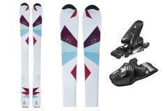 Tigris Junior Girls Skis and Tyrolia Bindings 120cm