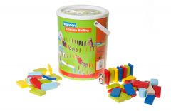 Traditional 142 piece Domino Rally Set