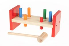 30% OFF CLEARANCE! Kids Wooden DIY Toy Hammer Tool Playset