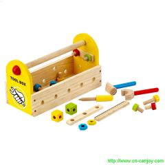 30% OFF CLEARANCE! Small Wooden DIY Tool Case For Children
