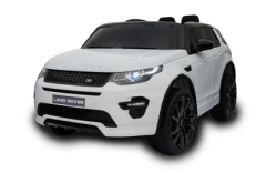 12V Licensed White Land Rover Discovery HSE Sport Ride On Car