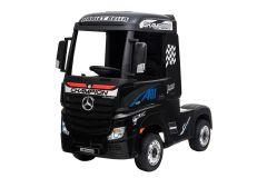 12V Licensed Mercedes Artic Truck Black