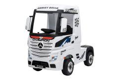 12V Licensed Mercedes Artic Truck White
