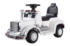 6V Ride On Truck White