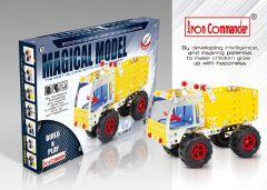 Kids' DIY Metal Dumper Truck 179 pcs