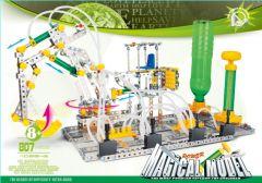 DIY Kids' Pneumatic Digger Platform (pneumatic control) 807 pcs