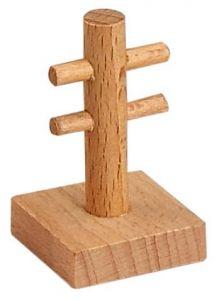 Set of 3 x Wooden Telegraph Pole Track Accessory / Part Set