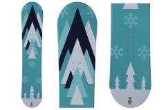 Tigris Junior Unisex Snowboard and Bindings 110cm
