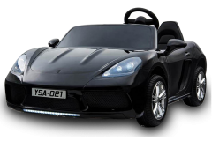 24V 2 Seater Supercar Ride On Car Black