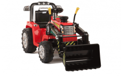 Graded - Red R/C Twin Motor Tractor - 12V