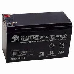 Battery Powered - 12V 7Ah Battery