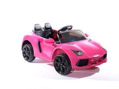 12V Pink Roadster Battery Ride On Car