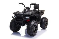 12V Quad Bike with Parental Remote - Black