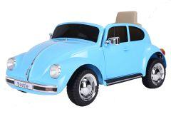 12V Licensed VW Beetle Ride On Car Blue