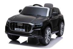 12V Licensed Black Audi Q8 Battery Ride On Car