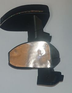Pair of wing mirrors - Black AUDI