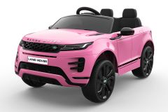 12V Licensed Pink Range Rover Evoque Ride On Car