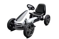 Licensed Mercedes Pedal Go Kart White